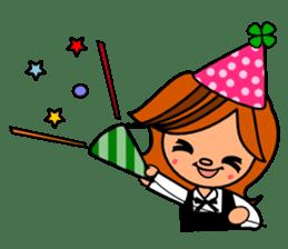 ichigo*clover Happy Winter sticker #1312304