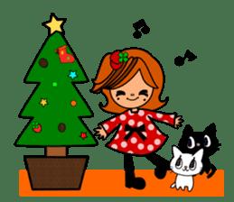 ichigo*clover Happy Winter sticker #1312306
