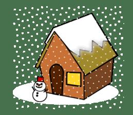 ichigo*clover Happy Winter sticker #1312310