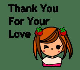 ichigo*clover Happy Winter sticker #1312311