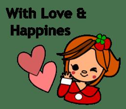 ichigo*clover Happy Winter sticker #1312317