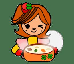 ichigo*clover Happy Winter sticker #1312322