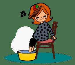 ichigo*clover Happy Winter sticker #1312324
