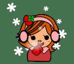 ichigo*clover Happy Winter sticker #1312328