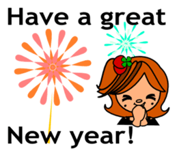 ichigo*clover Happy Winter sticker #1312335