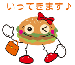 Burger Kids sticker #1313581