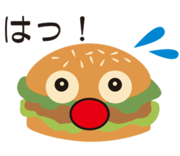 Burger Kids sticker #1313584
