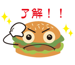 Burger Kids sticker #1313587