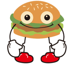 Burger Kids sticker #1313594