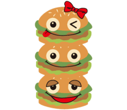 Burger Kids sticker #1313604