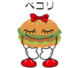 Burger Kids sticker #1313608