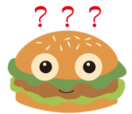 Burger Kids sticker #1313609