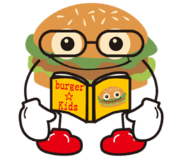 Burger Kids sticker #1313611
