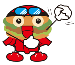 Burger Kids sticker #1313613