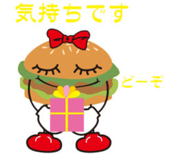 Burger Kids sticker #1313616