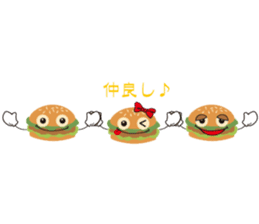 Burger Kids sticker #1313617