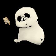 สติ๊กเกอร์ไลน์ Chivalrous spirit of panda