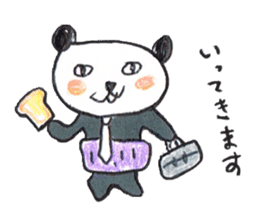 haramaki  panda  2 sticker #1315742