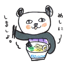 haramaki  panda  2 sticker #1315754