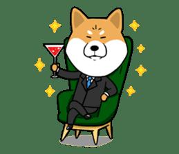 The Dogs - Shiba Inu 'Rui' sticker #1322227