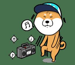 The Dogs - Shiba Inu 'Rui' sticker #1322233