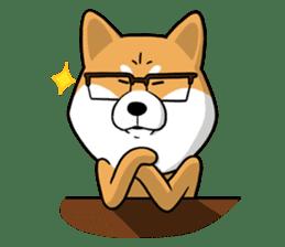 The Dogs - Shiba Inu 'Rui' sticker #1322236