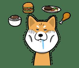 The Dogs - Shiba Inu 'Rui' sticker #1322242