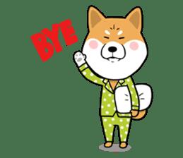 The Dogs - Shiba Inu 'Rui' sticker #1322244