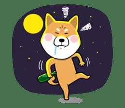 The Dogs - Shiba Inu 'Rui' sticker #1322247