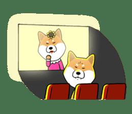 The Dogs - Shiba Inu 'Rui' sticker #1322252