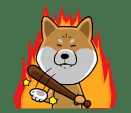 The Dogs - Shiba Inu 'Rui' sticker #1322254