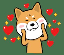 The Dogs - Shiba Inu 'Rui' sticker #1322255