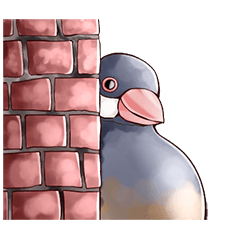 Fat Bird with partner