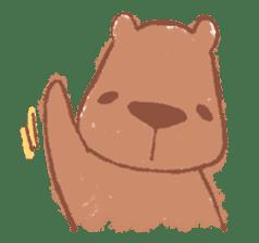 Graffiti animal of capybara and cat sticker #1323348