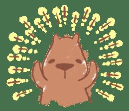 Graffiti animal of capybara and cat sticker #1323358