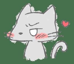 Graffiti animal of capybara and cat sticker #1323364