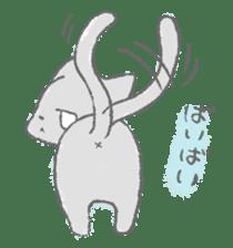 Graffiti animal of capybara and cat sticker #1323382