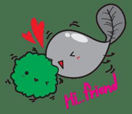 E-Huak & Marimo sticker #1323563