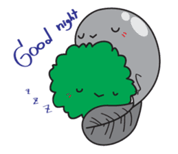 E-Huak & Marimo sticker #1323565