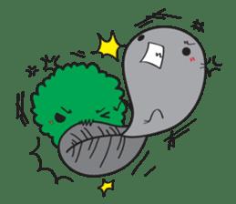 E-Huak & Marimo sticker #1323582