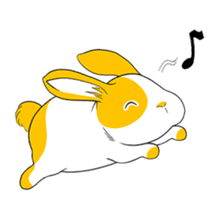 Winny Bunny sticker #1324708