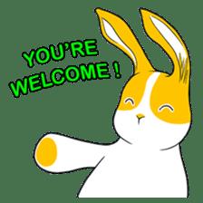 Winny Bunny sticker #1324724