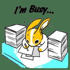Winny Bunny sticker #1324742