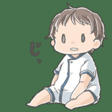 A loose baby Sticker sticker #1326796