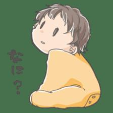 A loose baby Sticker sticker #1326813