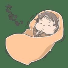 A loose baby Sticker sticker #1326822