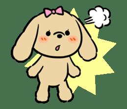pretty dogs sticker #1326882
