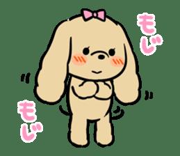 pretty dogs sticker #1326902