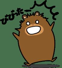 Hokkaido dialect (Bear series) sticker #1327157