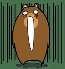 Hokkaido dialect (Bear series) sticker #1327161
